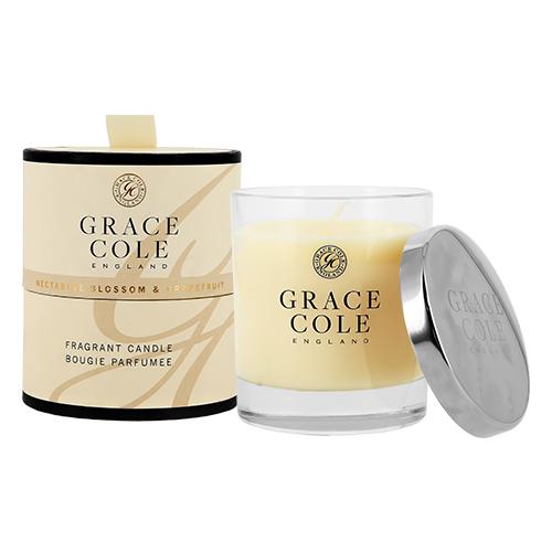 Свеча ароматическая GRACE COLE NECTARINE BLOSSOM & GRAPEFRUIT 200 г