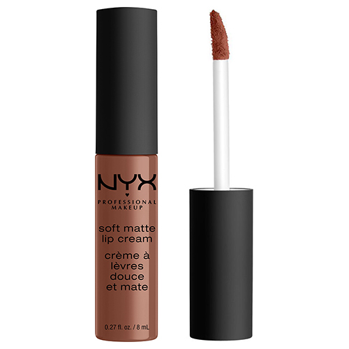Помада для губ `NYX PROFESSIONAL MAKEUP` SOFT MATTE LIP CREAM тон 60 Leon матовая жидкая