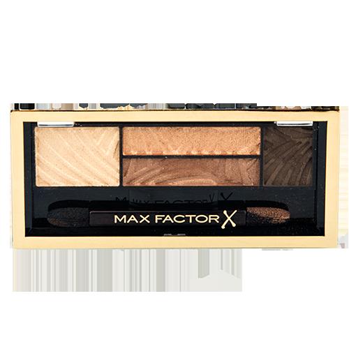 Тени для век `MAX FACTOR` SMOKEY EYE DRAMA KIT тон 03 (sumptuous golds)Тени<br>Придает цвет, позволяет создать полный и выразительный макияж глаз.<br>
