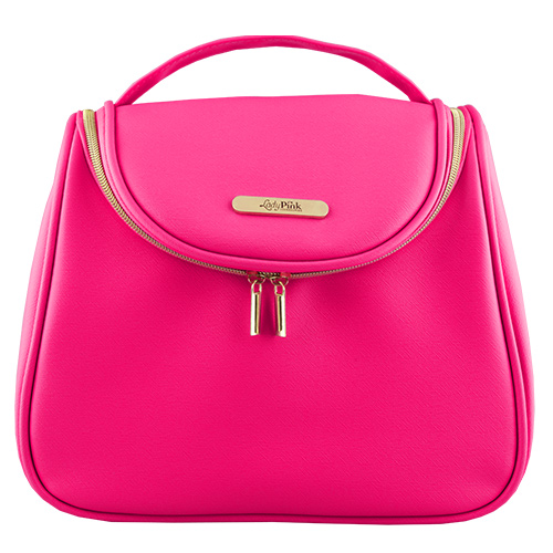 Косметичка-сундучок LADY PINK MUST HAVE LIMITED Candy pink