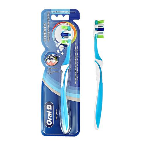 Щетка зубная ORAL-B Complex Пятисторонняя чистка средней жесткости