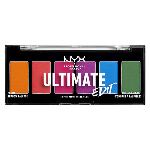 Палетка теней для век `NYX PROFESSIONAL MAKEUP` ULTIMATE EDIT тон Brights