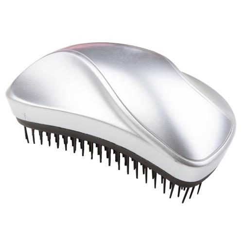 Купить Щетка для волос LADY PINK METAL SHOCK распутывающая матовая серебряная, КИТАЙ/ CHINA