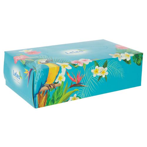 Салфетки бумажные `LELEA` 2-х слойные Tropic 100 штСалфетки<br>Салфетки бумажные LELEA двухслойные Tropic.<br>Количество в упаковке: 100 шт.<br>