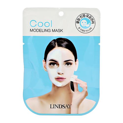 Маска для лица LINDSAY альгинатная с маслом перечной мяты охлаждающая увлажняющая 28 г.