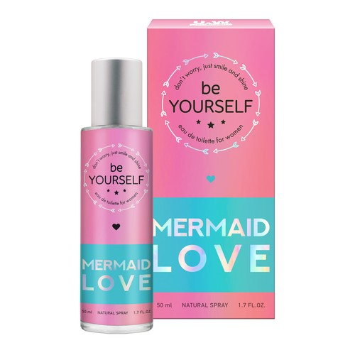 Туалетная вода YOU & WORLD ABOUT YOU BE YOURSELF mermaid love жен. 50 мл