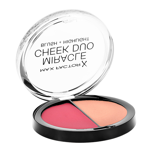 Румяна для лица `MAX FACTOR` MIRACLE CHEEK DUO тон 30 dusky pink & copper