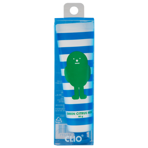 Паста зубная `CLIO` STICKY MONSTER Bird (Green Citrus mint) 80 гЗубные пасты<br>Зубная паста CLIO Sticky Monster со вкусом цитруса и мяты содержит ксилит и натуральные растительные экстракты, обеспечивает тщательное и бережное очищение зубов от повседневных загрязнений и предотвращает появление зубного налета, укрепляет эмаль, отбеливает. Натуральный состав позволяет применять пасту всем членам семьи.<br>Содержание фтора: 858 ppm<br>
