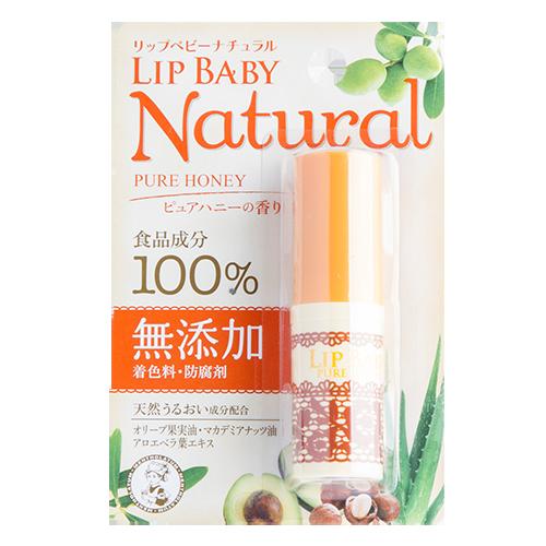 Бальзам для губ MENTHOLATUM LIP BABY NATURAL Мед 4 гГубы<br>Бальзам для губ со вкусом меда создан исключительно из натуральных компонентов, не содержит красителей и консервантов. Природные компоненты, такие как масло оливы, экстракт листьев алоэ, масло макадамии глубоко увлажняют и защищают губы от вредного воздействия окружающей среды.<br>