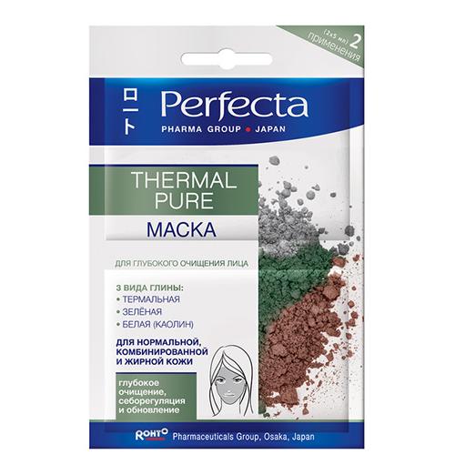 Купить Маска для лица PERFECTA Thermal pure Глубокое очищение 10 мл, ПОЛЬША/ POLAND