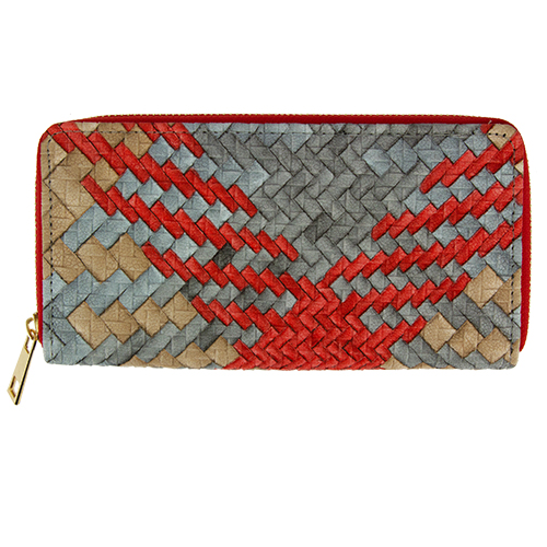 Кошелек `LADY PINK` BASIC плетеный серыйПрочее<br>Яркие кошельки Lady Pink прекрасно дополнят женскую сумочку и позволят Вам выглядеть стильно и модно при любых обстоятельствах!<br>