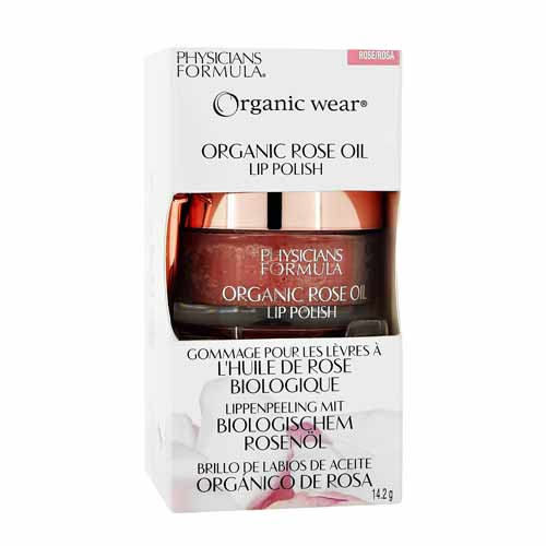 Скраб для губ PHYSICIANS FORMULA ORGANIC WEAR rose oil