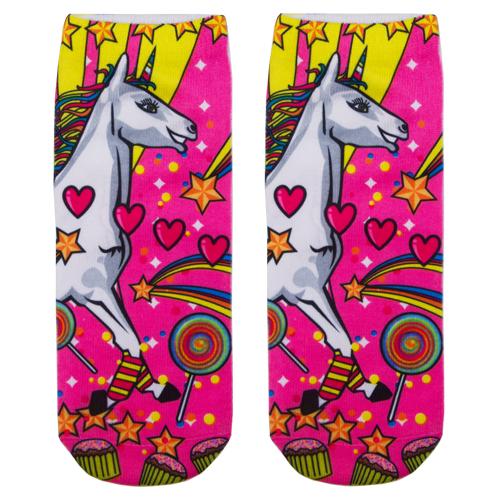 Носки женские `SOCKS` Big unicorn р-р единыйГольфы и носки<br>Носки женские Big Unicorn р-р единый<br>