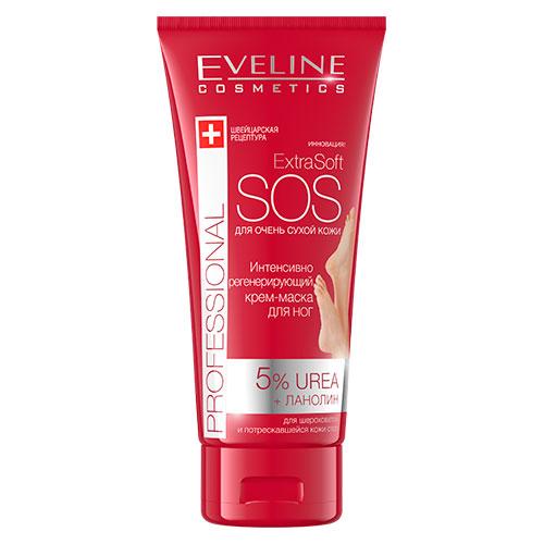 Купить Крем-маска для ног EVELINE для очень сухой кожи интенсивно-регенерирующая 100 мл, ПОЛЬША/ POLAND