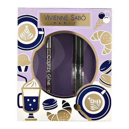 Купить Набор подарочный женский VIVIENNE SABO карандаш для бровей, гель для бровей FIXATEUR, ФРАНЦИЯ/ FRANCE