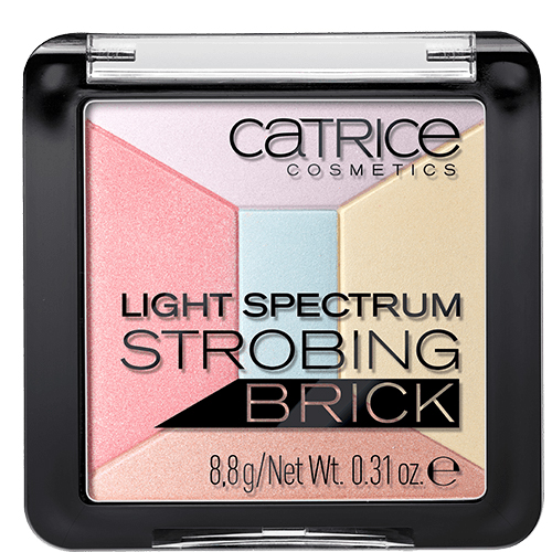 Хайлайтер для лица `CATRICE` LIGHT SPECTRUM STROBING BRICK тон 30 (5 в 1)