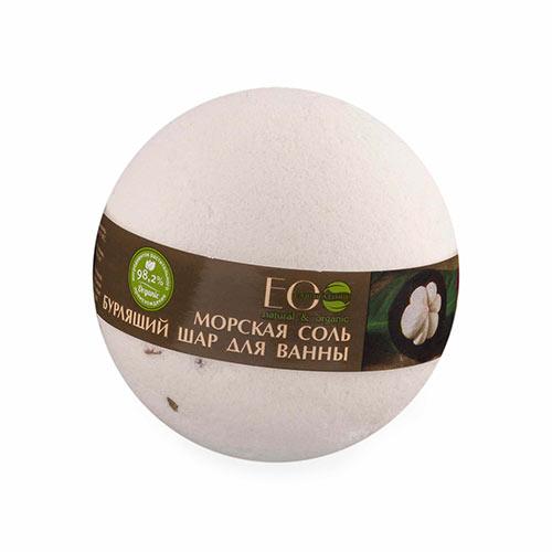 Бурлящий шар для ванны EO LABORATORIE Мангостин и ваниль 220 г