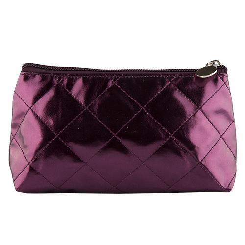 Косметичка `LADY PINK` METALLIC фиолетоваяКосметички<br>Косметичка Lady Pink - стильное и удобное решение для хранения косметики. Большой выбор косметичек разных форм и размеров, а также ярких дизайнов позволит легко выбрать ту, которая подходит именно тебе.<br>