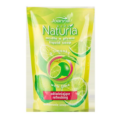 Мыло жидкое `JOANNA` NATURIA  BODY Лимон (смен блок) 300 млОчищение<br>Жидкое мыло  со свежим фруктовым запахом идеально очищает и освежает  кожу.Содержит экстракт  лимона , который обладает увлажняющими свойствами.<br>