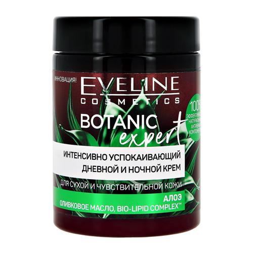 Купить Крем для лица EVELINE BOTANIC EXPERT дневной и ночной успокаивающий 100 мл, ФРАНЦИЯ/ FRANCE