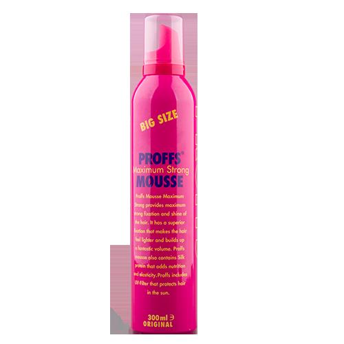 Мусс для укладки волос PROFFS Долговременный объем 300 мл фото