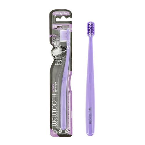 Щетка зубная WELLTOOTH мягкая violet