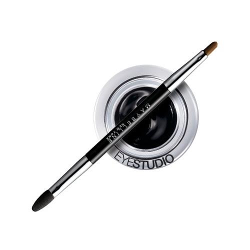 Подводка гелевая для глаз `MAYBELLINE` EYESTUDIO LASTING DRAMA тон 07 (черный хром)            а/п B1933911Подводки<br>Высокая конценрация пигментов без добавления масел обеспечивает продолжительный эффект свежего макияжа. Насыщенные оттенки позволяют каждый раз создавать индивидуальный драматический образ.  3 оттенка<br>