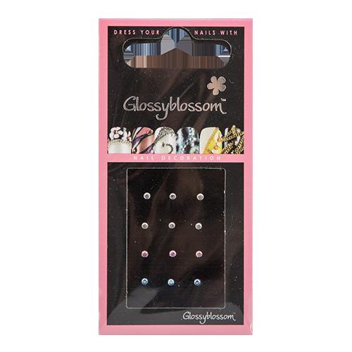Стразы для ногтей `GLOSSYBLOSSOM` самоклеющиеся акриловые большие круглые             а/п 71145Дизайн ногтей<br>Декоративные украшения для ногтей GlossyBlossom помогут сделать Ваш маникюр необычным, ярким и современным!<br>
