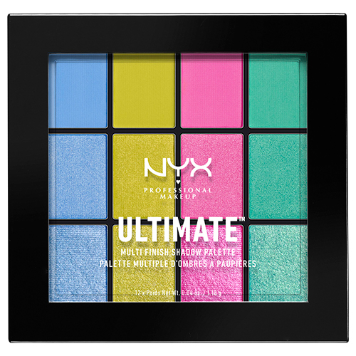 Палетка теней для век `NYX PROFESSIONAL MAKEUP` ULTIMATE MULTI-FINISH тон 05 electric