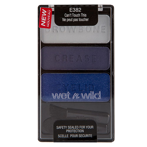 Тени для век `WET N WILD` COLOR ICON тон E382 Can`t touch this (тройные)