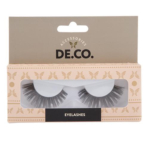 Накладные ресницы DE.CO. №103Накладные ресницы<br>Накладные ресницы придают глазам большую выразительность и подчеркивают макияж. Благодаря высококачественному материалу ресницы очень легкие, неощутимы на глазах и могут быть использованы длительное время.<br>