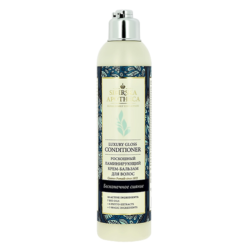 Купить Крем-бальзам для волос SIBIRSKA APOTHECA Ламинирующий 250 мл, РОССИЯ/ RUSSIA
