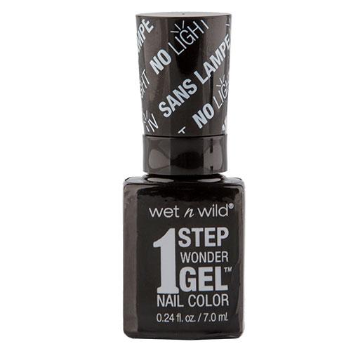 Гель-лак для ногтей `WET N WILD` 1 STEP WONDERGEL тон E7351 Power outage 7 млЛаки<br>Лак держится до двух недель. Сохнет без использования ультрафиолетовой лампы, легко удаляется и не повреждает ногтевую пластину, не содержит толуола и фталатов.<br>