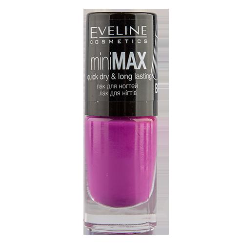 Лак для ногтей EVELINE MINI MAX тон 817 5 мл           а/п LL5MIMT817NЛаки<br>Лак для ногтей Mini Max PERFECT BRUSH<br>