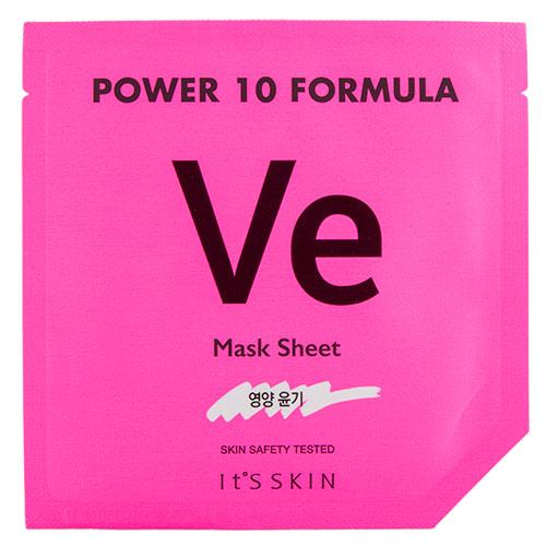 Маска для лица ITS SKIN POWER 10 FORMULA VE с витамином E питательная 25 мл