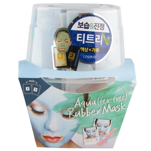 Купить Маска для лица LINDSAY MAGIC MASK альгинатная моделирующая с экстрактом чайного дерева 2 х 65 г + 2 х 6, 5 г, РЕСПУБЛИКА КОРЕЯ/ REPUBLIC OF KOREA
