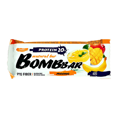 Батончик неглазированный BOMBBAR Манго-банан 60 г