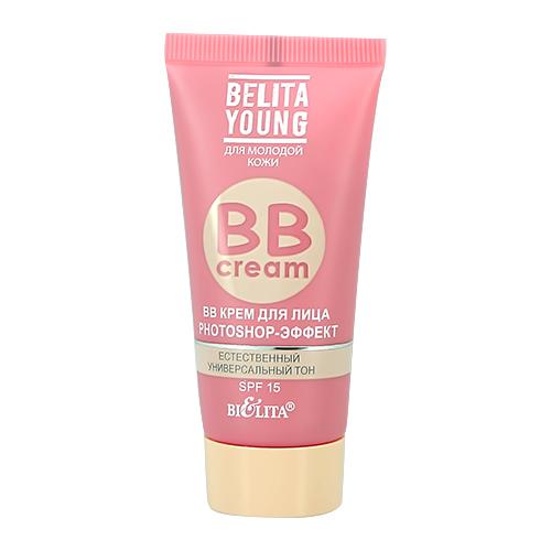 Крем для лица BIELITA YOUNG BB CREAM Photoshop-эффект 30 мл