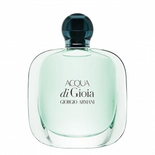 Парфюмерная вода `GIORGIO ARMANI` ACQUA DI GIOIA (жен.) 50 млЖенская<br>Цветочный аромат очаровывает с первых нот толченой мяты и лимона, собранного весной в Калабрии. Базовые аккорды парфюма Acqua di Gioia - вода из недр земли и LMR Cedarwood Heart, натуральный ингредиент с измененным ароматным профилем. Дополняет аромат букет чувственного коричневого сахара и лабданума, что является одним из редчайших растений. Прекрасный свежий аромат, идеально подходящий для теплого времени года.<br>