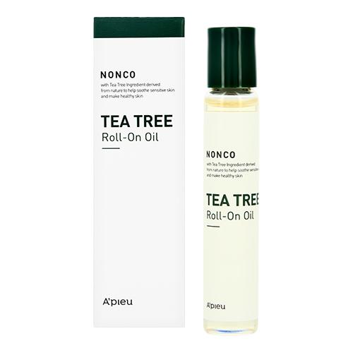 Купить Масло для лица APIEU NONCO TEA TREE в ролике 8 мл, РЕСПУБЛИКА КОРЕЯ/ REPUBLIC OF KOREA