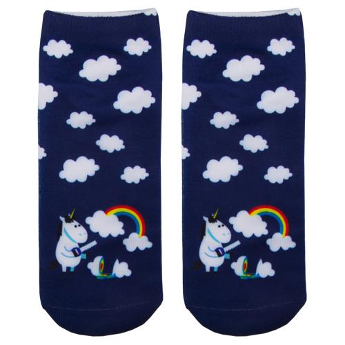 Носки женские SOCKS Unicorn clouds р-р единый фото
