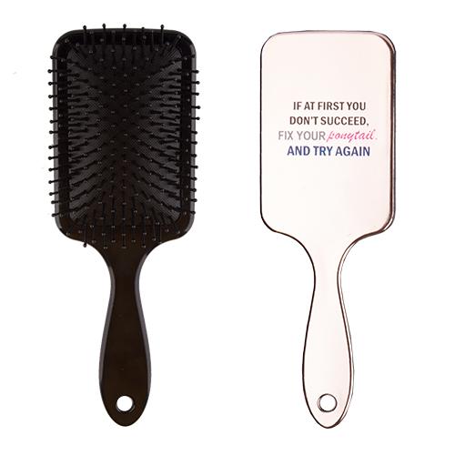 Расческа для волос `LADY PINK` FUNNY PRINT goldЩетки массажные<br>Массажная щетка Lady Pink подходит для расчесывания волос любой длины. Обеспечивает деликатный массаж кожи головы, улучшает микроциркуляцию.<br>