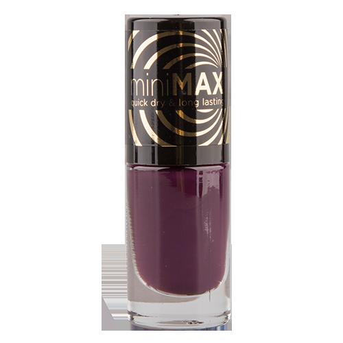 Лак для ногтей `EVELINE` MINI MAX тон 158 5 млЛаки<br>Лак для ногтей Mini Max PERFECT BRUSH 158<br>