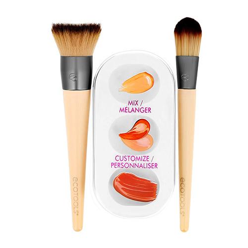 Купить Набор кистей для макияжа ECOTOOLS CUSTOM MATCH DUO, США/ USA