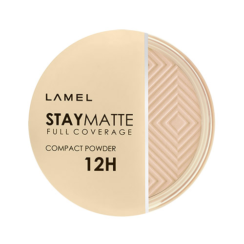 Пудра компактная для лица LAMEL PROFESSIONAL STAY MATTE COMPACT POWDER тон 402