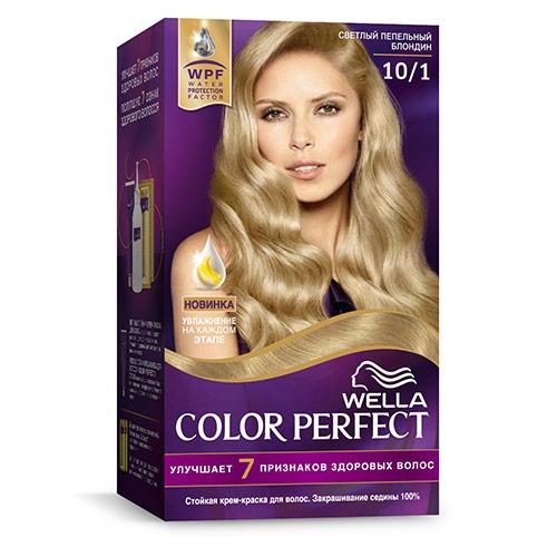 Крем-краска для волос WELLA COLOR PERFECT тон 10/1 Светлый пепельный блондин фото