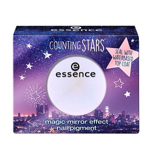 Втирка для ногтей `ESSENCE` COUNTING STARS тон 01Дизайн ногтей<br>Пудра-втирка для завораживающего зеркального эффекта.<br>