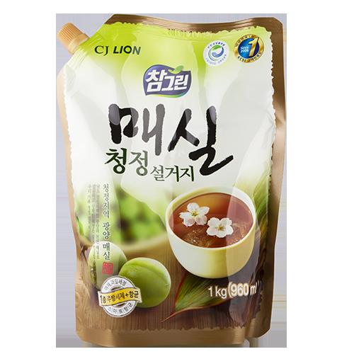 Купить Средство для мытья посуды LION Японский абрикос концентрированное, рефил 960 мл, РЕСПУБЛИКА КОРЕЯ/ REPUBLIC OF KOREA