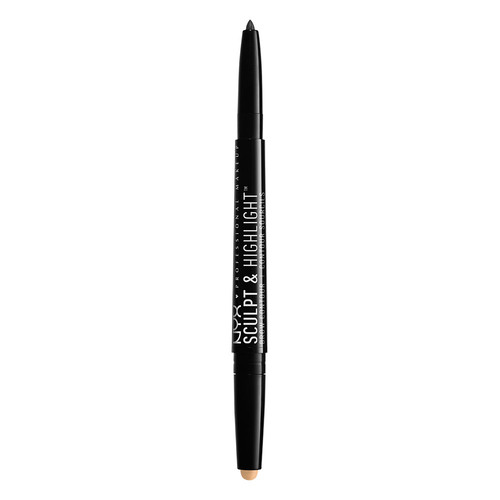 Карандаш для бровей `NYX PROFESSIONAL MAKEUP` SCULPT & HIGHLIGHT BROW CONTOUR тон 08 Gold peach