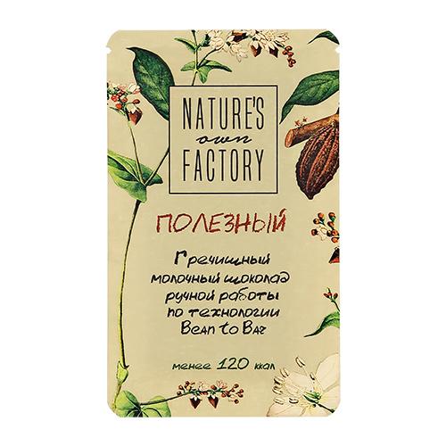 Гречишный шоколад NATURES OWN FACTORY молочный 20 г